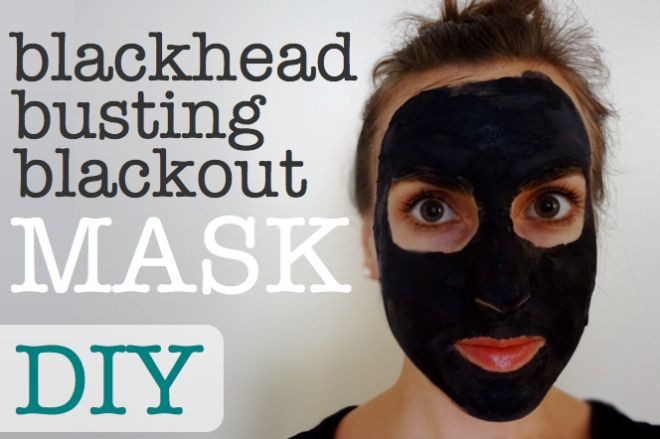 DIY Blackhead Mask  DIY All Natural Blackhead Busting Blackout Mask