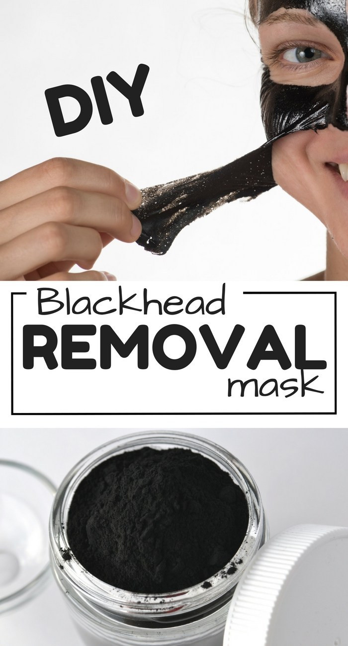 DIY Blackhead Mask  DIY Face mask recipe How to Get Rid of Blackheads