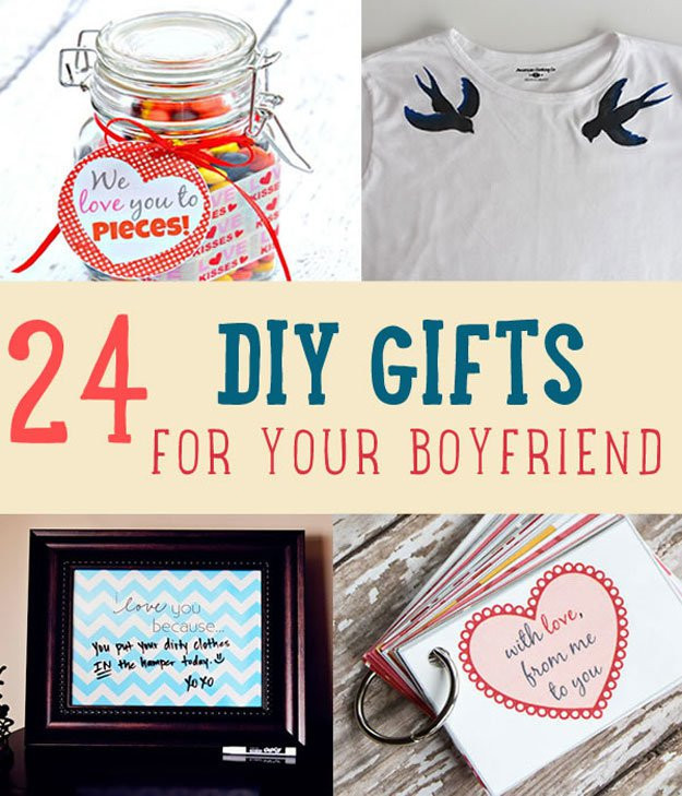 Diy Boyfriend Gift Ideas  24 DIY Gifts For Your Boyfriend