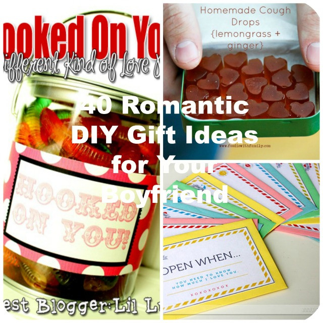 Diy Boyfriend Gift Ideas  40 Romantic DIY Gift Ideas for Your Boyfriend You Can Make