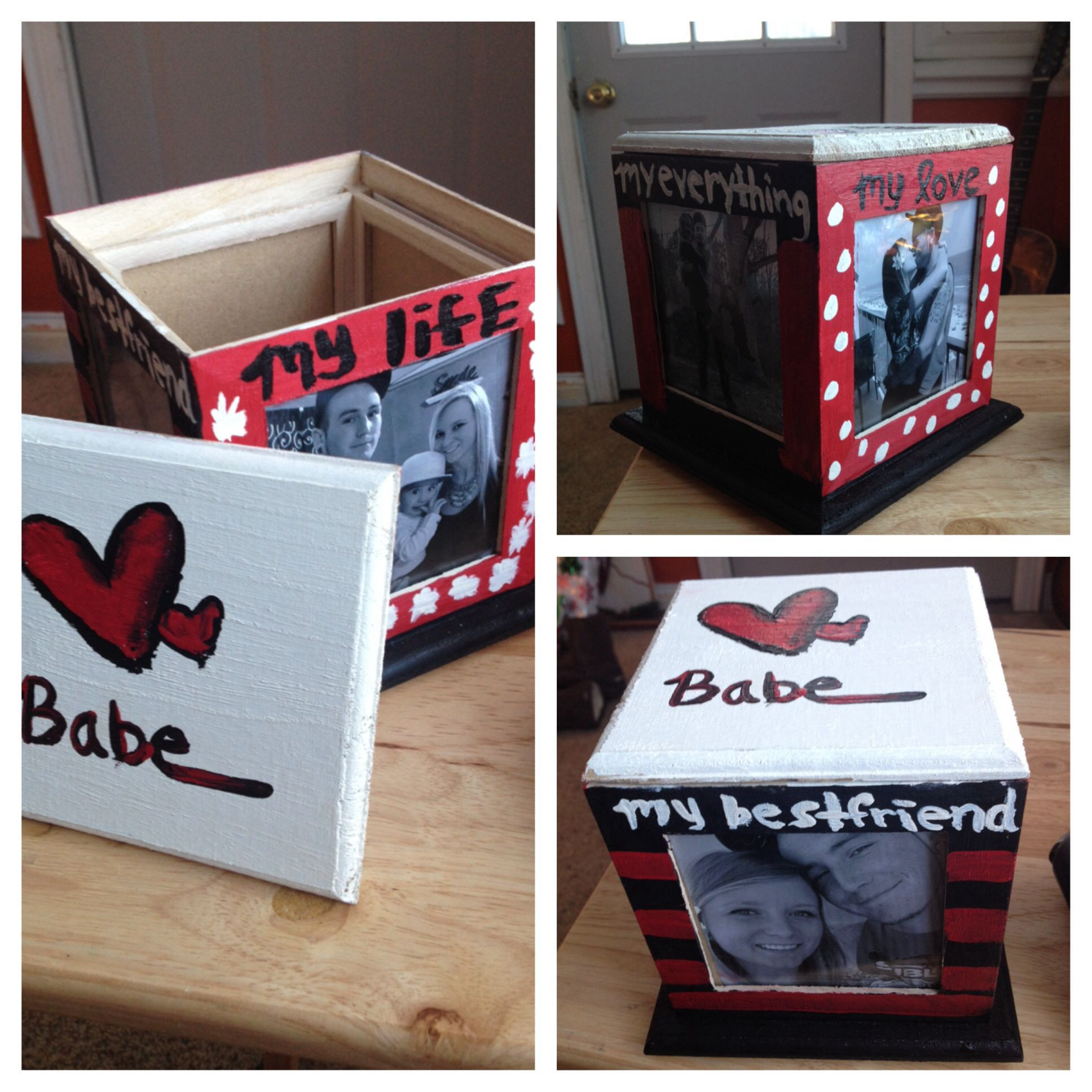 Diy Boyfriend Gift Ideas  Cheap DIY present for boyfriend made this for Dan for