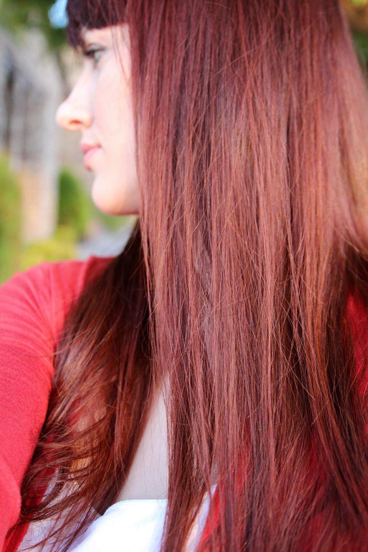 DIY Brown Hair Dye  Henna Hair Dye Tutorial DIY for Medium Brown Hair Before