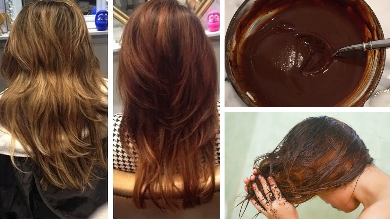 DIY Brown Hair Dye  How to Dye Your Hair Naturally with coffee