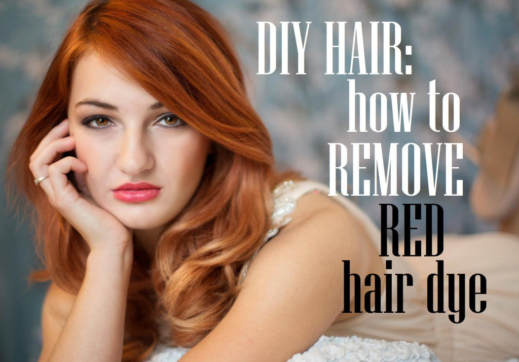 DIY Brown Hair Dye  DIY Hair How to Remove Red Hair Dye