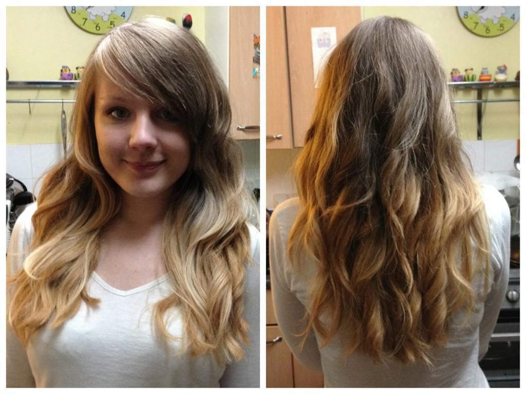 DIY Brown Hair Dye  My DIY Blonde Ombre Dip Dye Hair