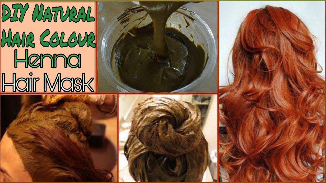 DIY Brown Hair Dye  DIY Natural Hair Color In Hindi