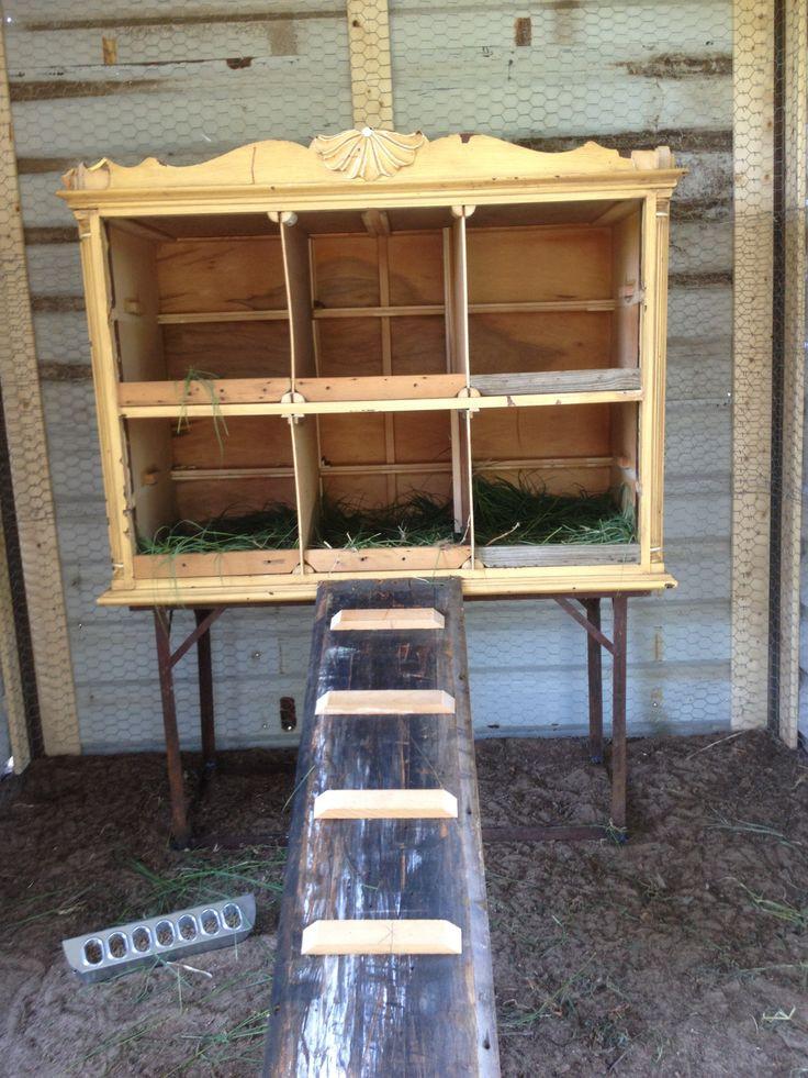 DIY Chicken Nest Box  20 Easy & Cheap DIY Chicken Nesting Boxes