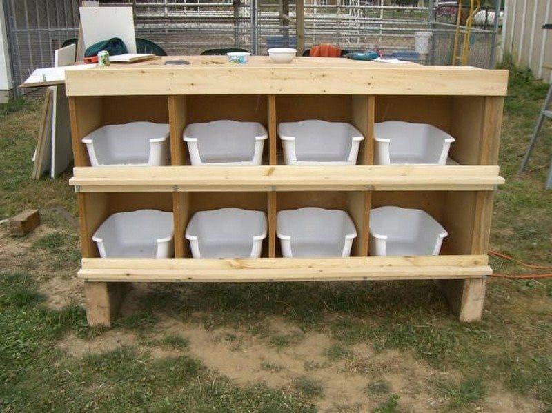 DIY Chicken Nest Box  Chicken nesting box ideas – The Owner Builder Network