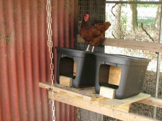 DIY Chicken Nest Box  22 Chicken Approved Inexpensive Nesting Boxes