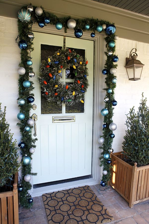 DIY Christmas Door Decoration  110 best images about DIY Christmas Door Decorating Ideas