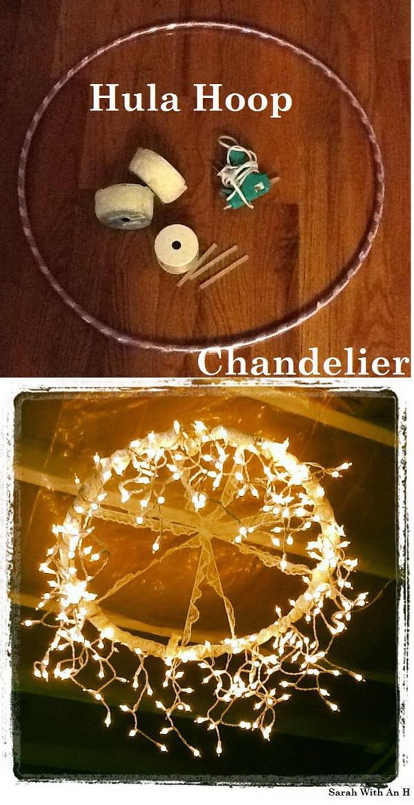 DIY Christmas Light Ideas  Holiday Decoration DIY String Light Projects