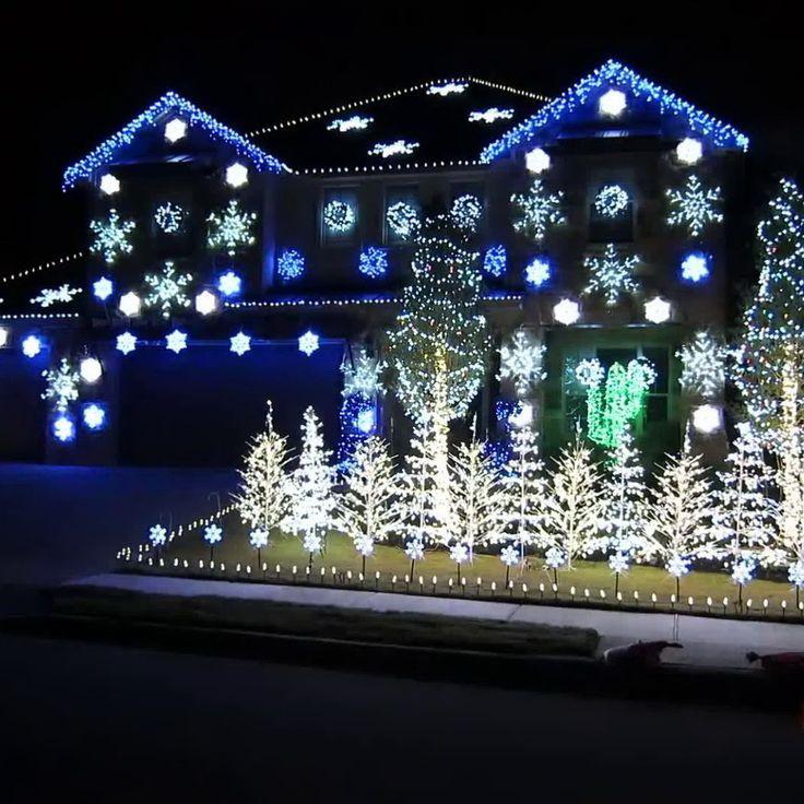 DIY Christmas Light Show  Best 25 Christmas lights display ideas on Pinterest