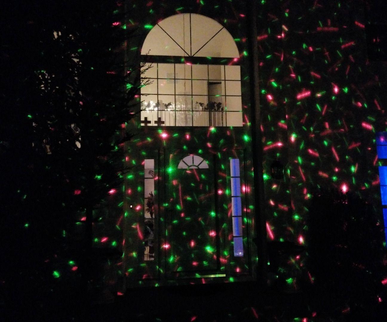 DIY Christmas Light Show  Cheap DIY Christmas Laser Light Show $16