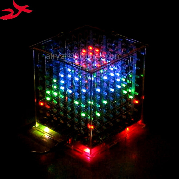 DIY Christmas Light Show  Aliexpress Buy zirrfa DIY 3D 8s multicolor mini