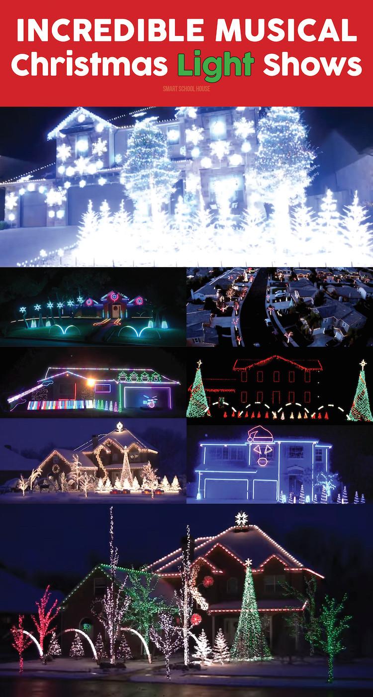 DIY Christmas Light Show  Christmas Light Shows with Music