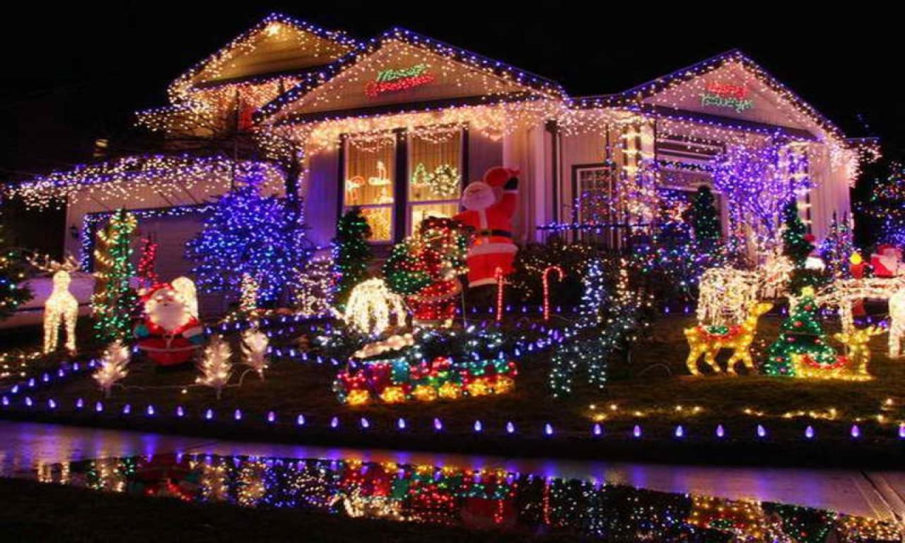 DIY Christmas Light Show  Homemade christmas yard decorations christmas light