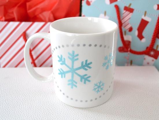 DIY Christmas Mug  Holiday Handmade DIY Handpainted Mug from Mod Podge Rocks