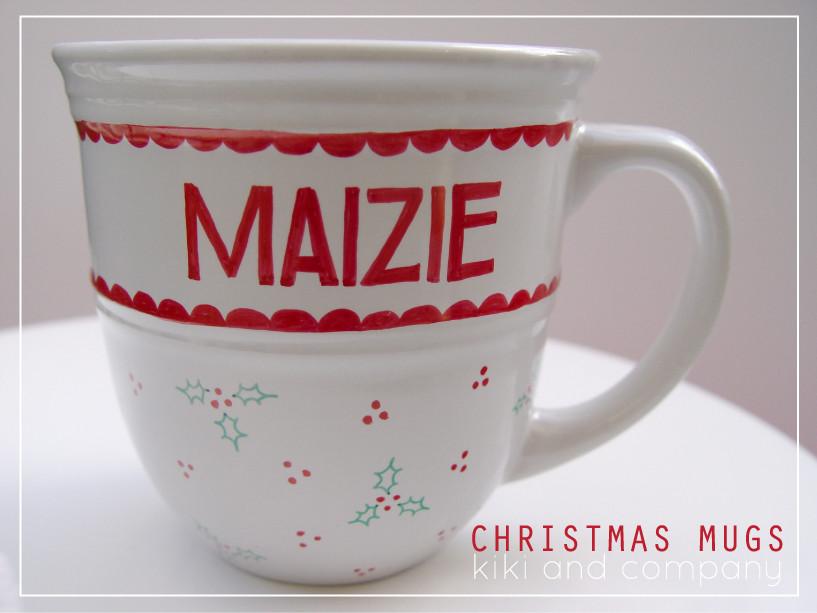 DIY Christmas Mug  DIY Christmas Mugs Free Printable Kiki & pany