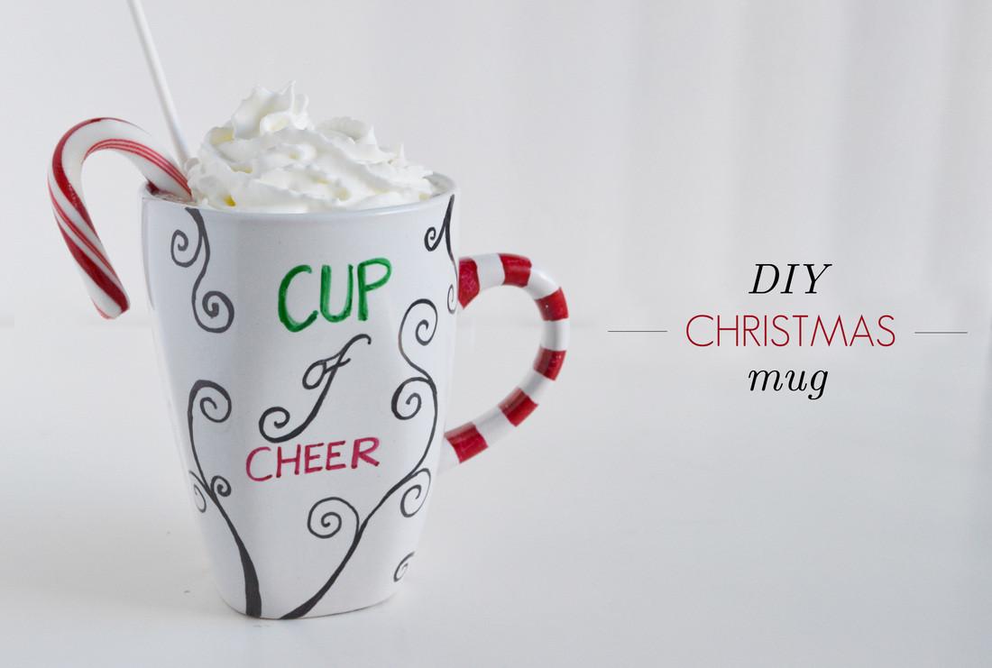 DIY Christmas Mug  DIY Personalized Christmas Mug