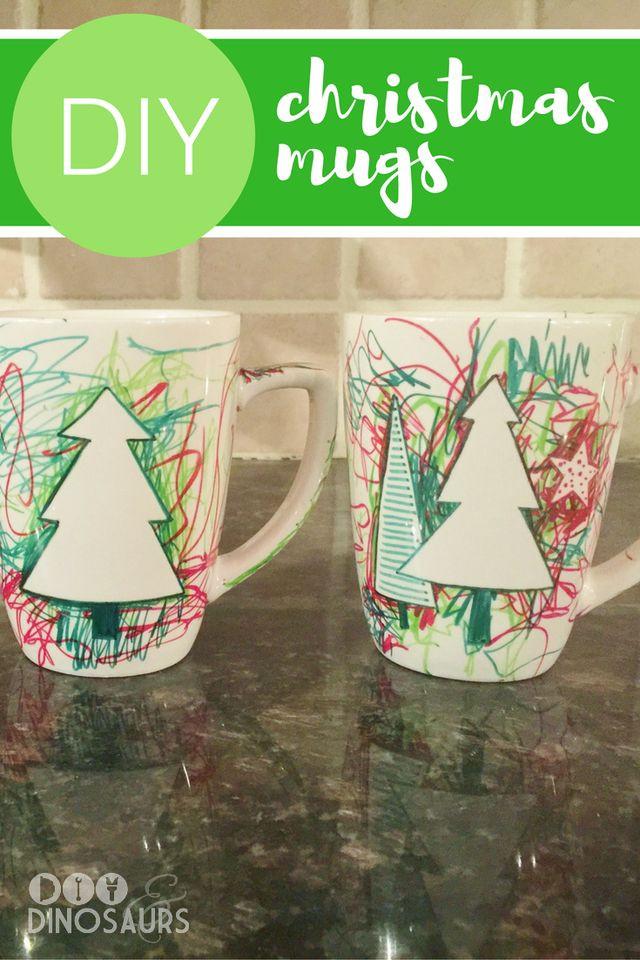 DIY Christmas Mug  Best 25 Christmas mugs ideas on Pinterest