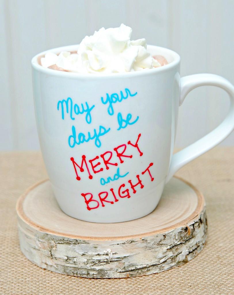 DIY Christmas Mug  Brilliant DIY Sharpie Mug Ideas Reliable Remodeler