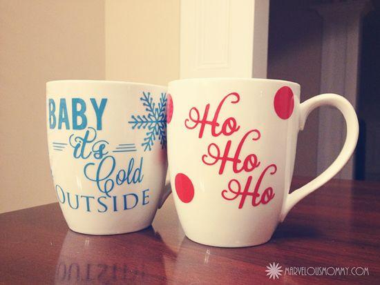 DIY Christmas Mug  1000 ideas about Christmas Mugs on Pinterest