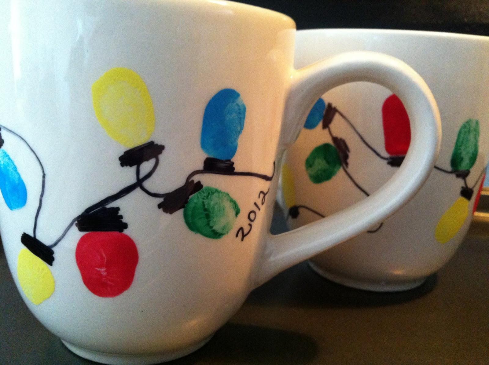 DIY Christmas Mug  Handmade by CJ DIY Christmas Sharpie Mugs