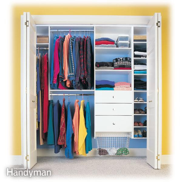 DIY Closet Organizer Ideas  How to Organize Your Closet Custom Designed Closet