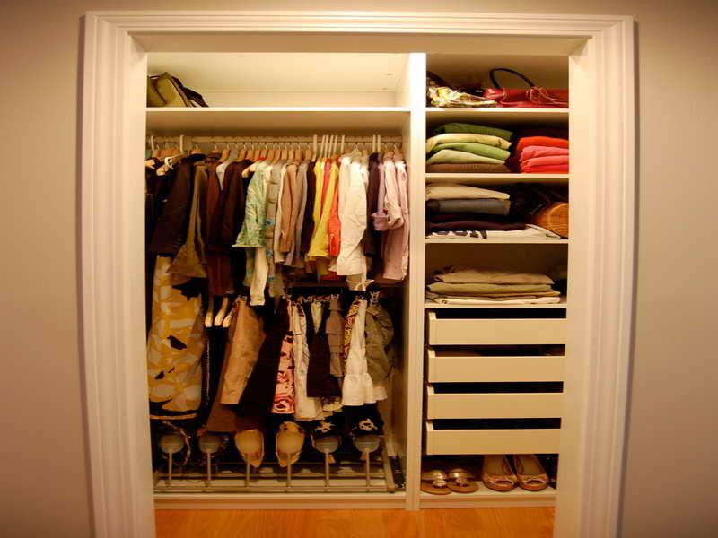 DIY Closet Organizer Ideas  Bloombety Diy Closet Organizer Ideas A Bud With