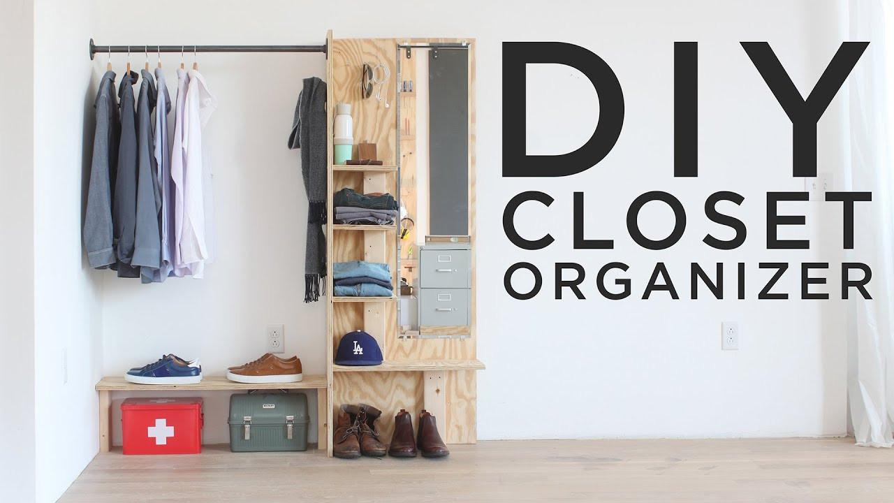DIY Closet Organizer Ideas  DIY Closet Organizer