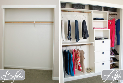 DIY Closet Organizer Ideas  Interview with a Professional Organizer Ashley of Design