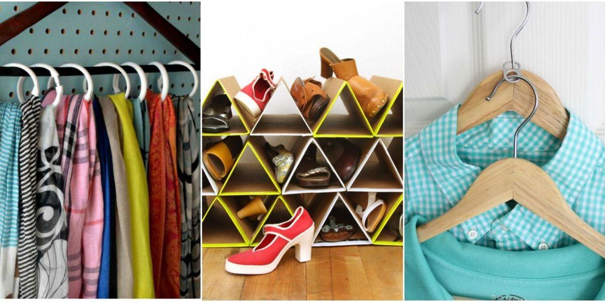 DIY Closet Organizer Ideas  30 Closet Organization Ideas Best DIY Closet Organizers