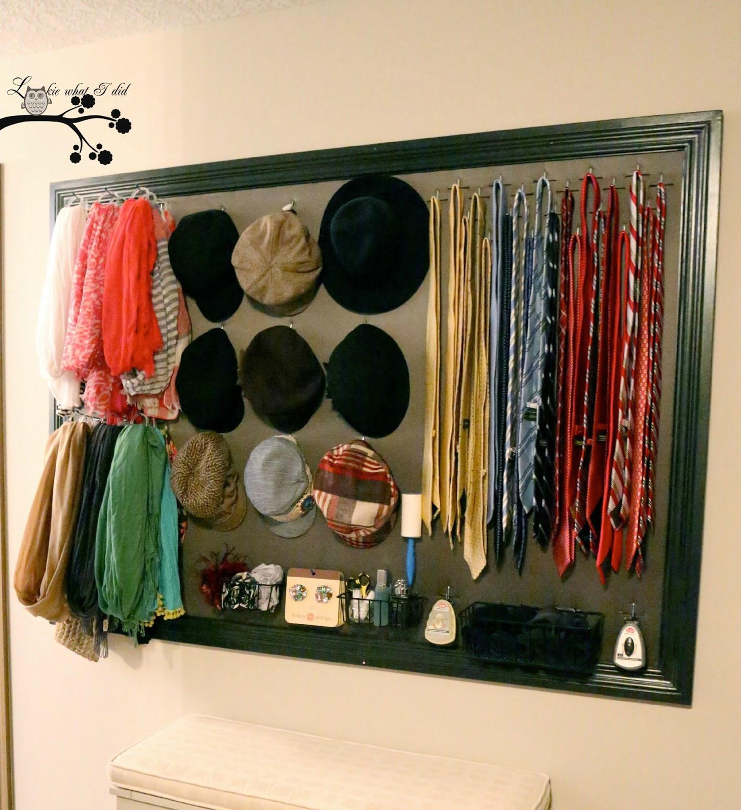 DIY Closet Organizer Ideas  Lookie What I Did His and Her Closet Organizer