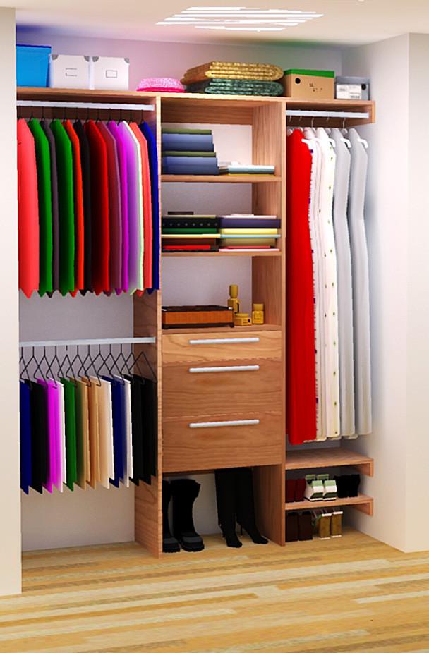 DIY Closet Organizer Ideas  DIY Closet Organizer Plans For 5 to 8 Closet