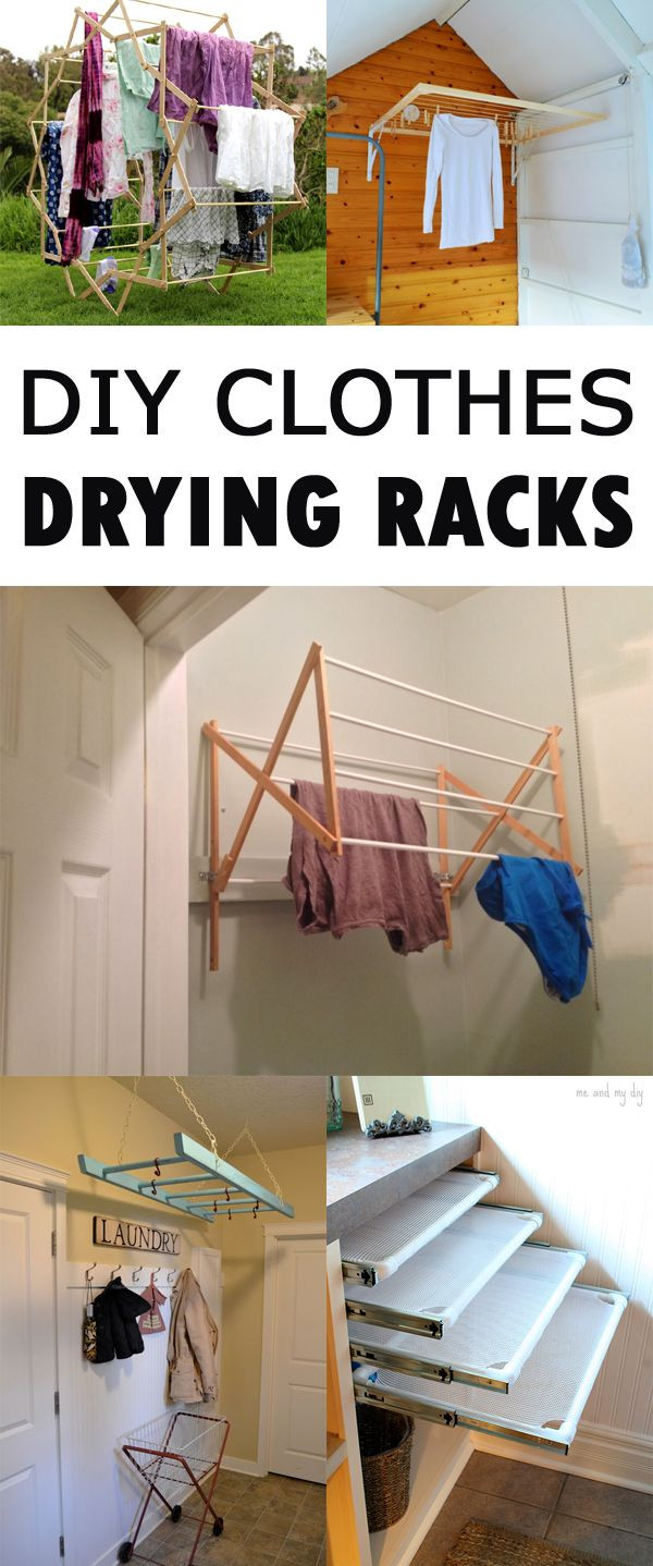 DIY Clothes Drying Rack  1000 ideas about Laundry Drying Racks on Pinterest
