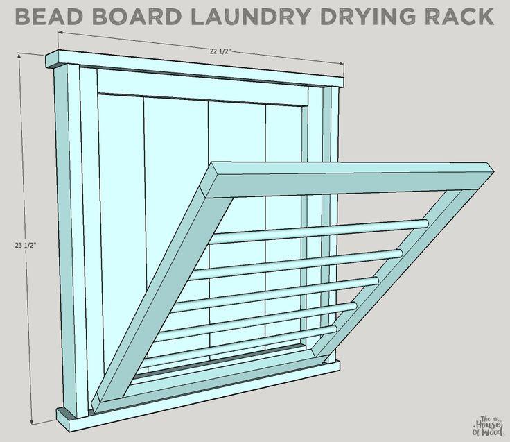 DIY Clothes Drying Rack  Best 25 Laundry drying racks ideas on Pinterest