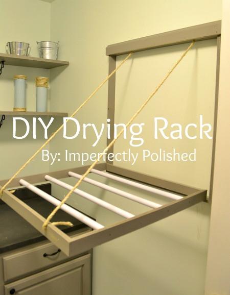 DIY Clothes Drying Rack  Hometalk