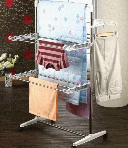 DIY Clothes Drying Rack  ★Living room Drying Rack★Wash Dryer★DIY★Clothes Hanger