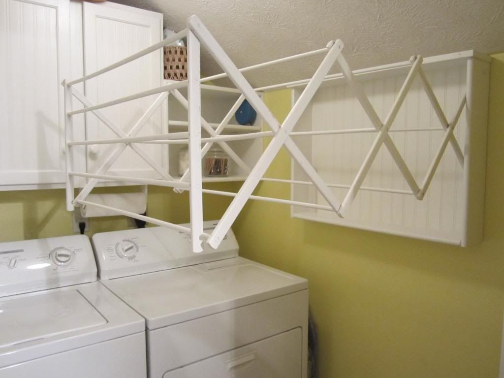 DIY Clothes Drying Rack  Make Your Own Laundry Room Drying Rack–Easy DIY Project
