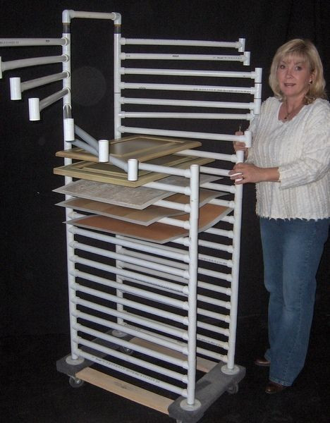 DIY Clothes Drying Rack  11 best DIY Clothes rack images on Pinterest