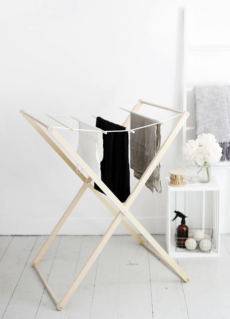 DIY Clothes Drying Rack  DIY Drying Rack The Merrythought
