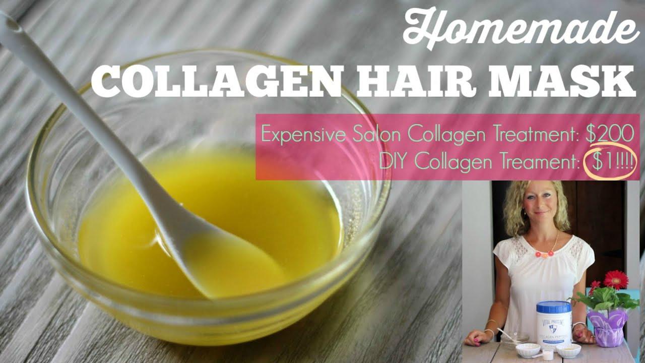 DIY Collagen Mask  DIY Collagen Hair Mask Healthy hair in 1 month