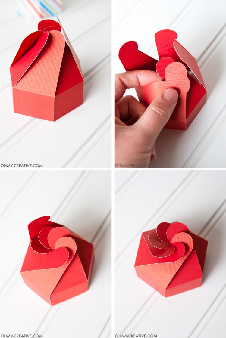 DIY Cookies Box  DIY Cookie Box Gift Printable Oh My Creative
