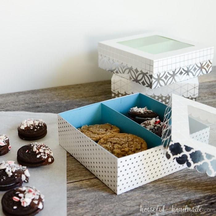 DIY Cookies Box  Easy Cookie Gift Boxes DIY a Houseful of Handmade