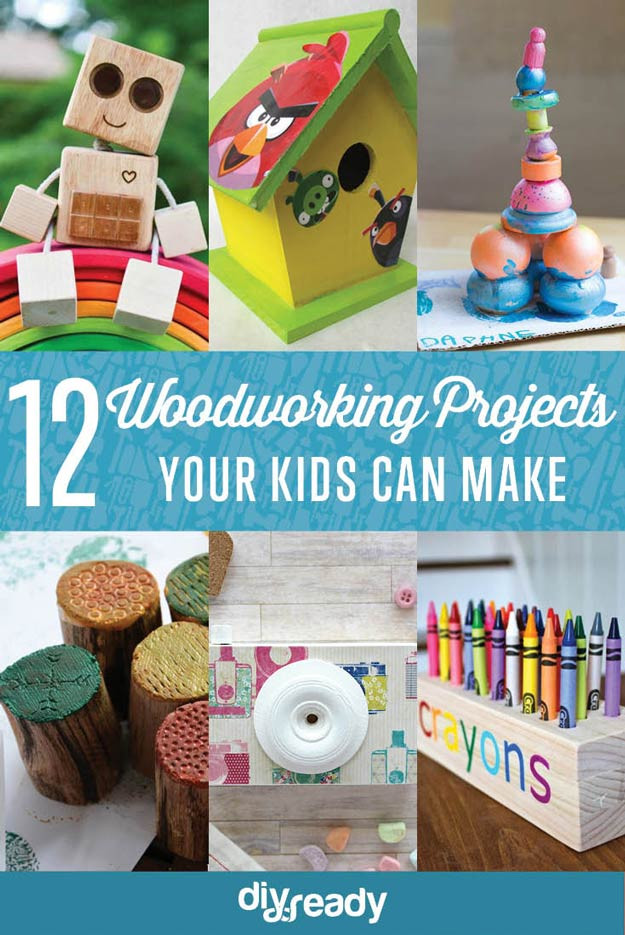 DIY Crafts For Kids  Easy Woodworking Projects for Kids to Make
