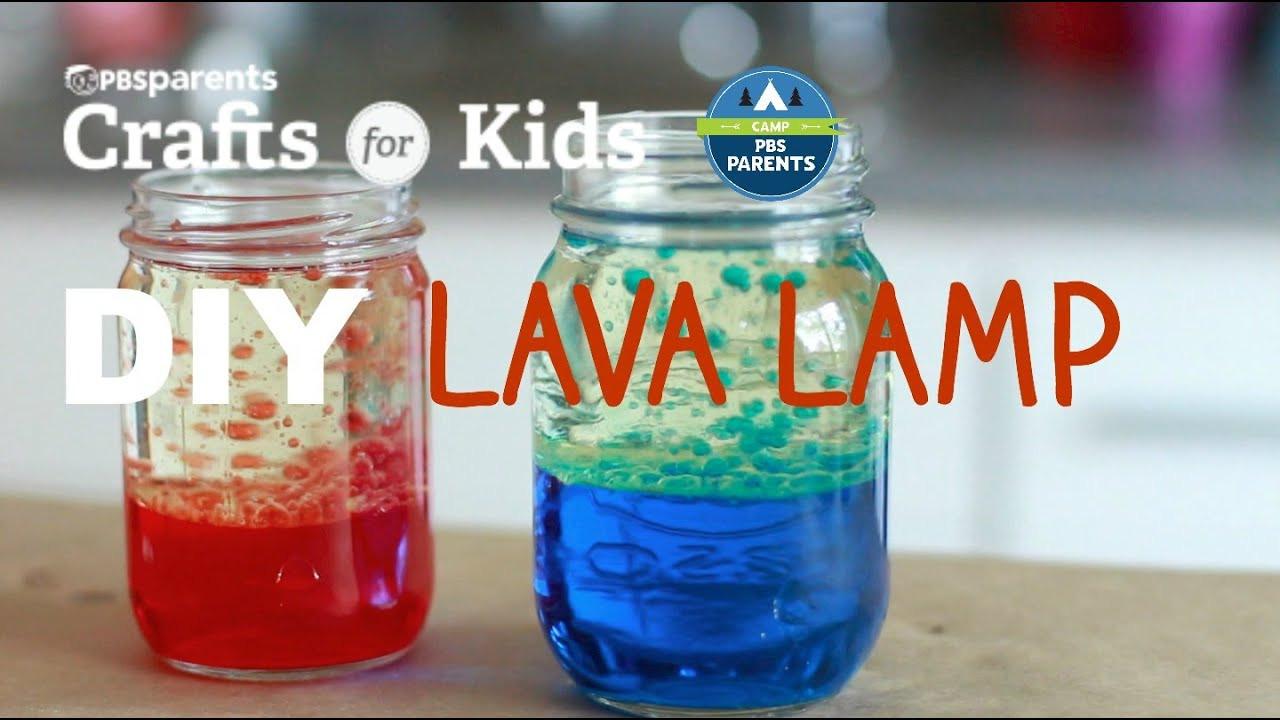 DIY Crafts For Kids  DIY Lava Lamp Crafts for Kids