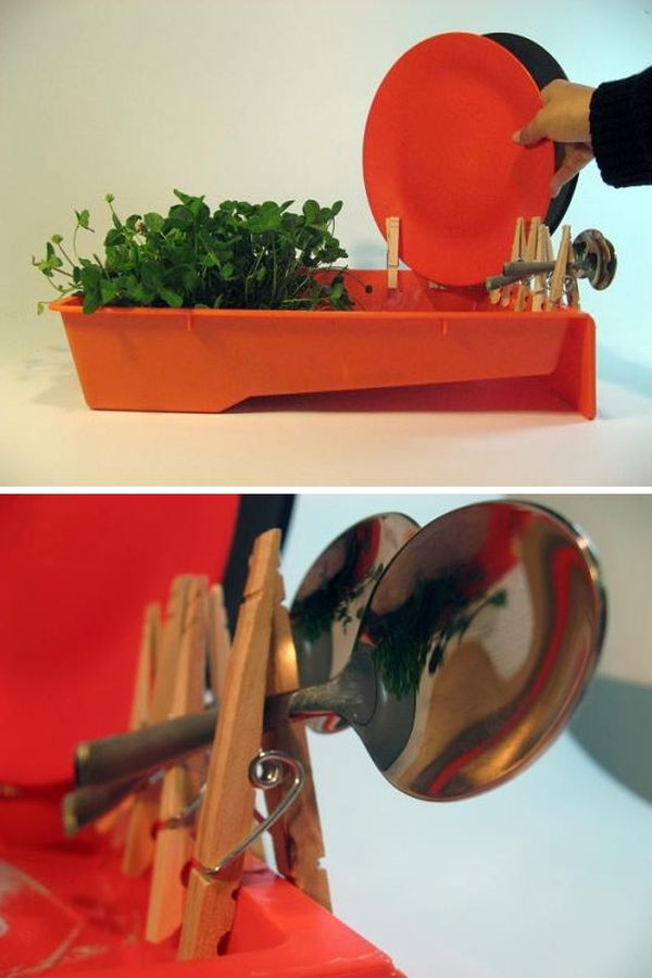 DIY Dish Drying Rack  Clever Designs That Reinvent The Humble Dish Drying Rack