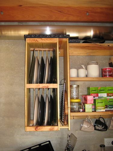 DIY Dish Drying Rack  15 Creative Ideas To Organize Dish And Plate Storage