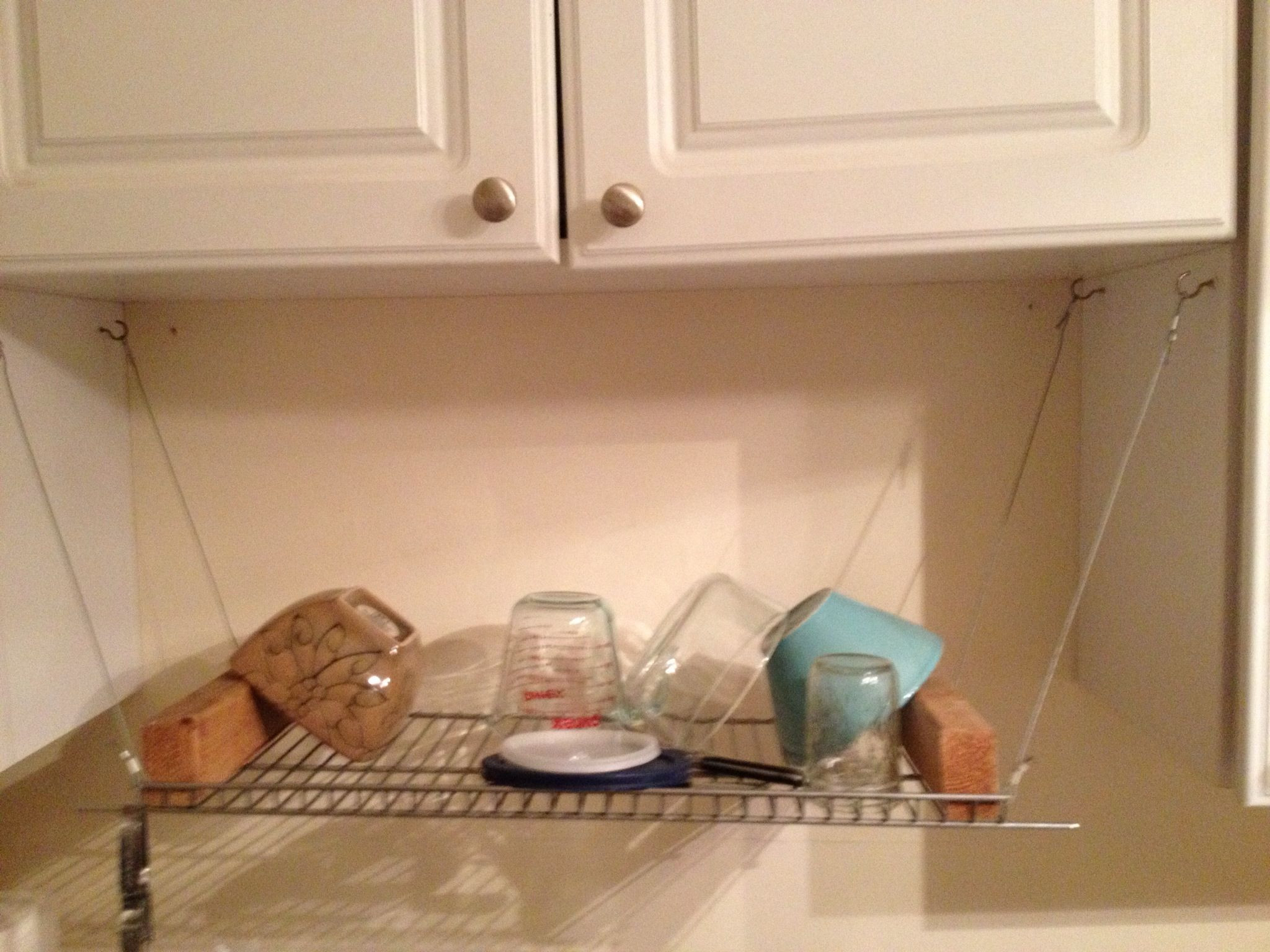 DIY Dish Drying Rack  DIY Dish Drying Rack DIY Ideas Pinterest