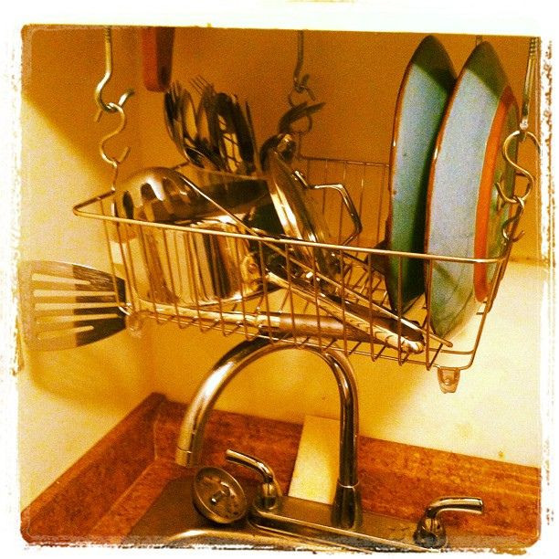 DIY Dish Drying Rack  Best 25 Dish racks ideas on Pinterest